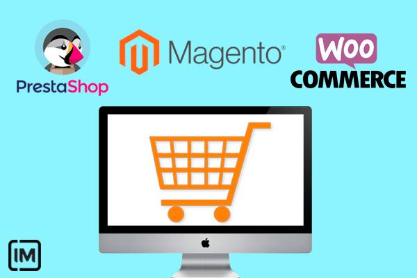 Los mejores Software CMS para tu Tienda Online: WooCommerce, PrestaShop y Magento